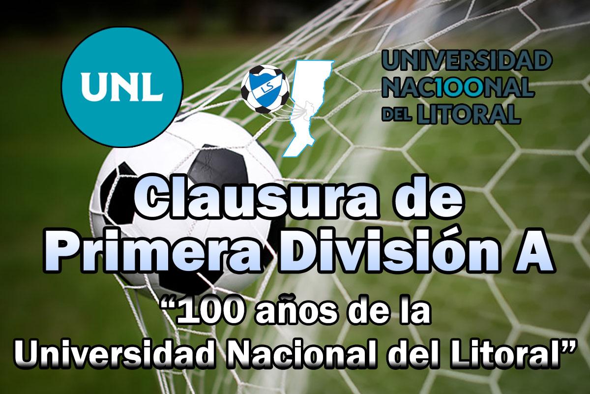 """Cronograma fecha 4, torneo Clausura """"100 años de la Universidad Nacional del Litoral"""""""