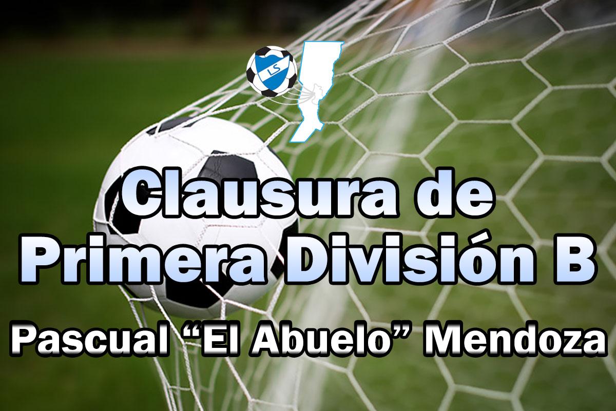 """Cronograma fecha 1, torneo Clausura Pascual """"El Abuelo"""" Mendoza"""