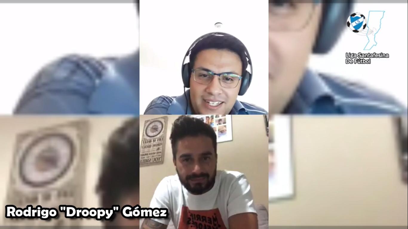 """Rodrigo Gómez: """"Me gustaría retirarme en Las Flores"""""""