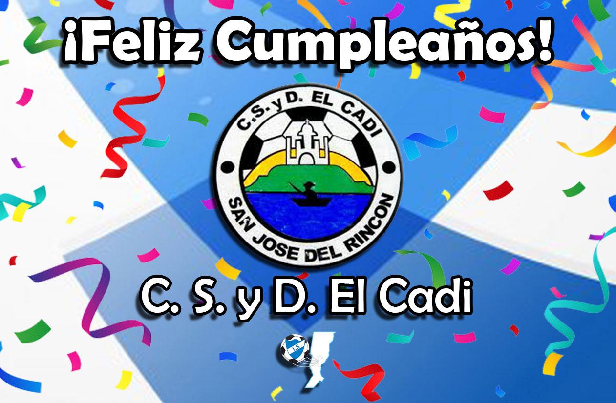 ¡Feliz cumpleaños, El Cadi!