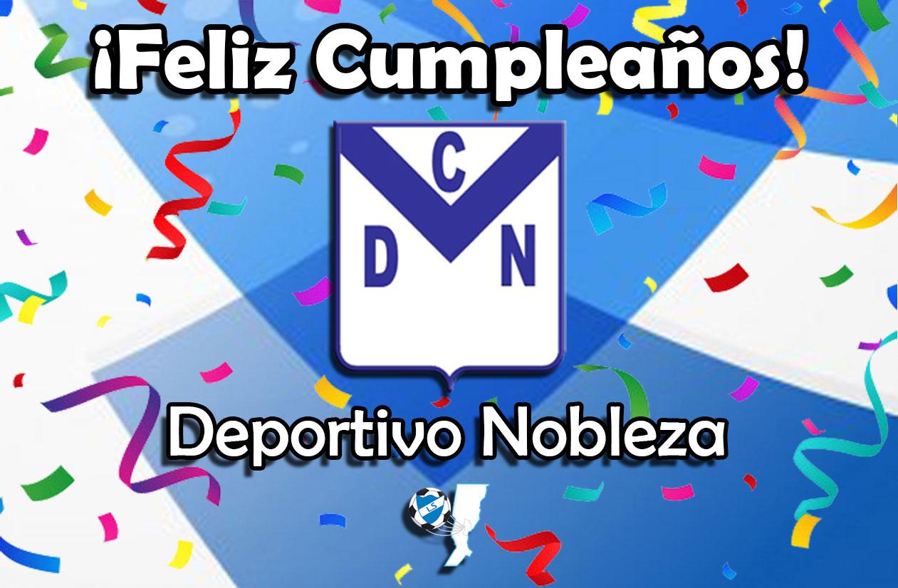 ¡Feliz cumpleaños, Deportivo Nobleza!