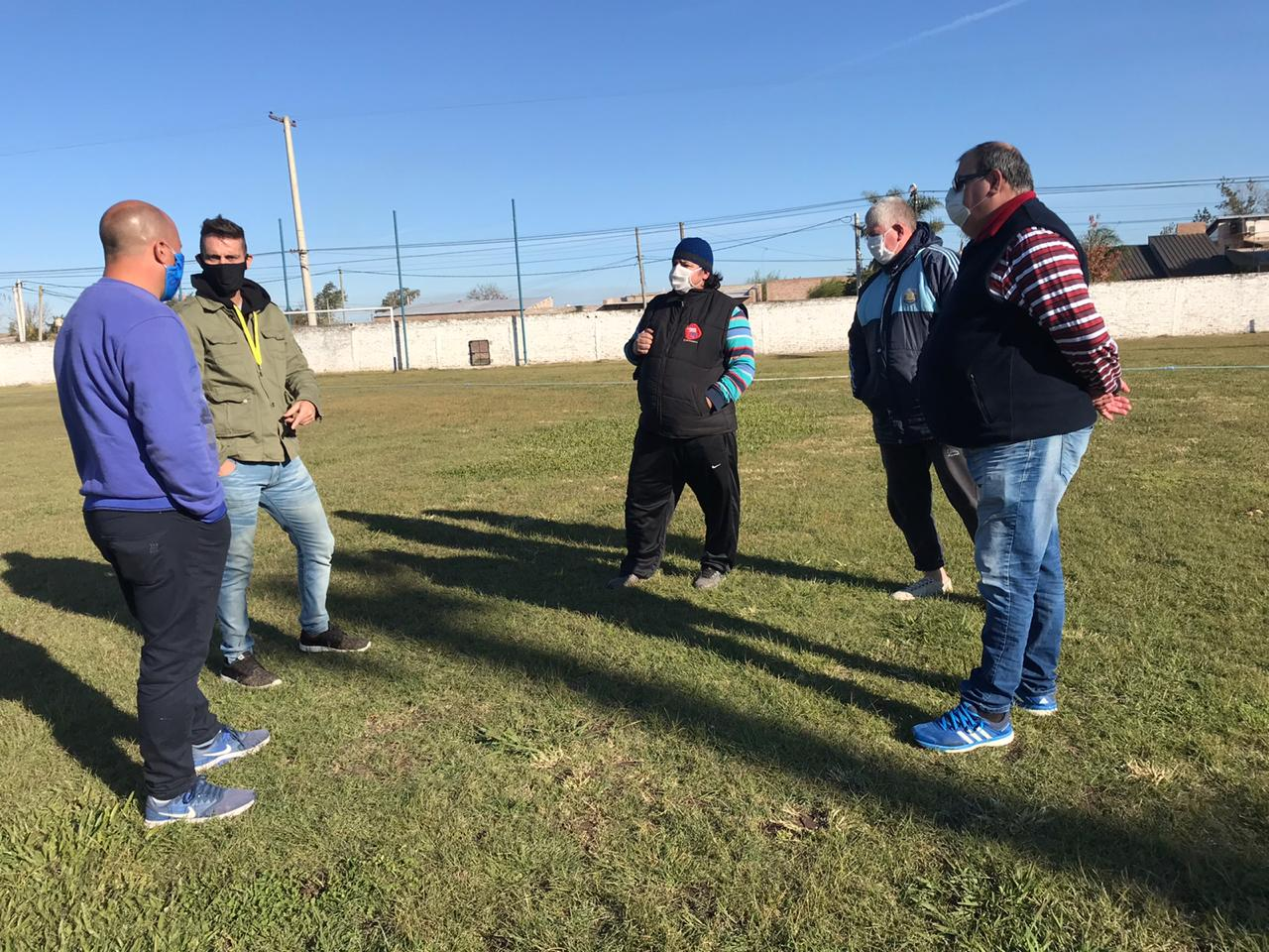 La Liga Santafesina, presente en Deportivo Nobleza