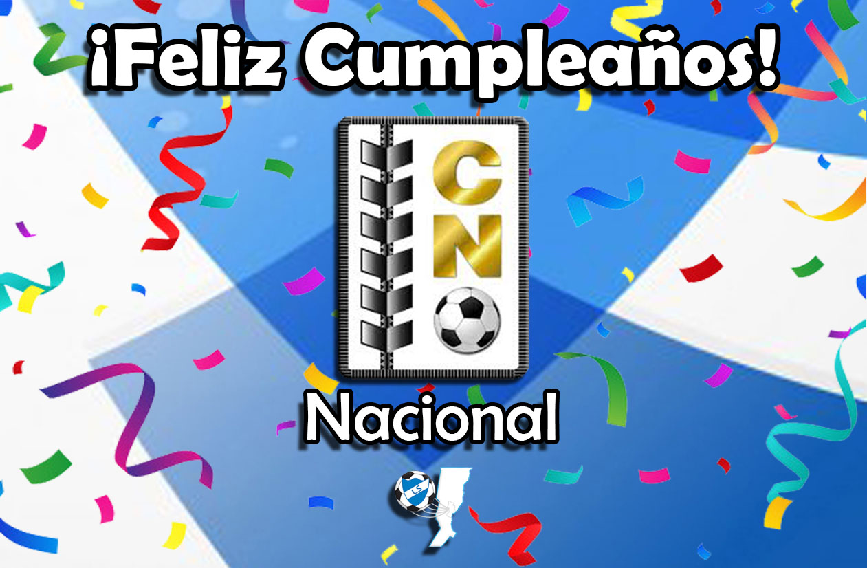 ¡Feliz cumpleaños, Nacional!