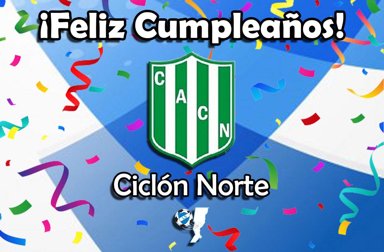 ¡Feliz cumpleaños, Ciclón Norte!