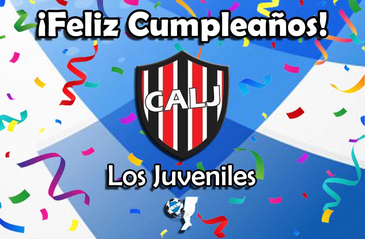 ¡Feliz cumpleaños, Los Juveniles!