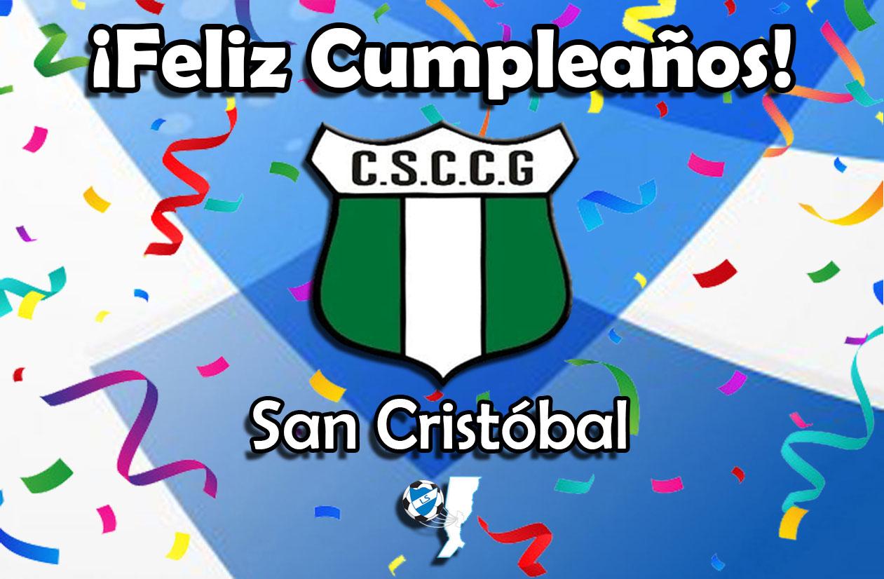 ¡Feliz cumpleaños, San Cristóbal!