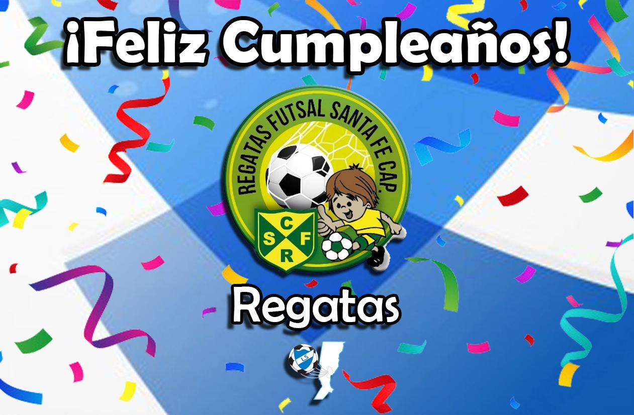 ¡Feliz cumpleaños, Regatas!